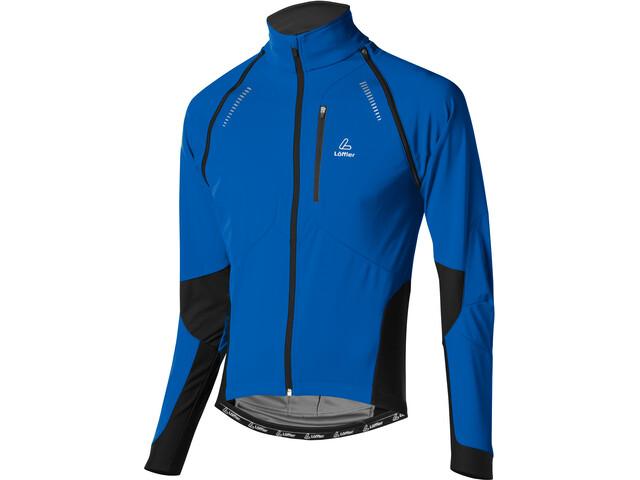 Löffler San Remo Windstopper Softshell Bike Zip-Off Jacket Men, curacao
